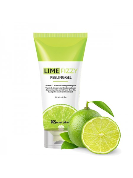 Secret Skin Lime Fizzy Peeling Gel Пилинг скатка с лаймом