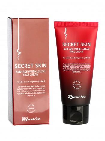 Secret Skin Syn-ake Wrinkleless Face Cream Крем  для лица с пептидом змеиного яда