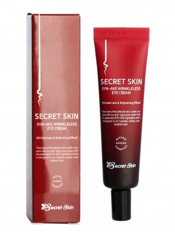 Secret Skin Syn-ake Wrinkleless Eye Cream Крем для глаз в пептидом змеиного яда