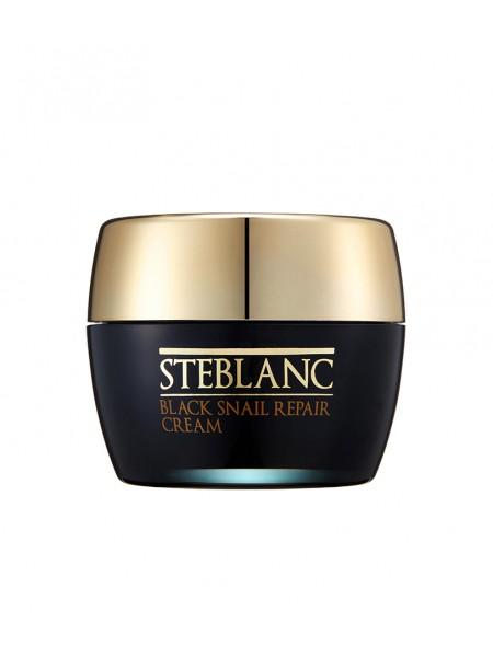 Восстанавливающий крем для лица с муцином Черной улитки Steblanc Black Snail Repair Cream