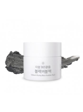 TIAM Sebum Drying Black Bubble Pack Маска для лица кислородная