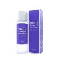 Эссенция для лица с муцином улитки и азуленом TIAM Snail & Azulene Water Essence