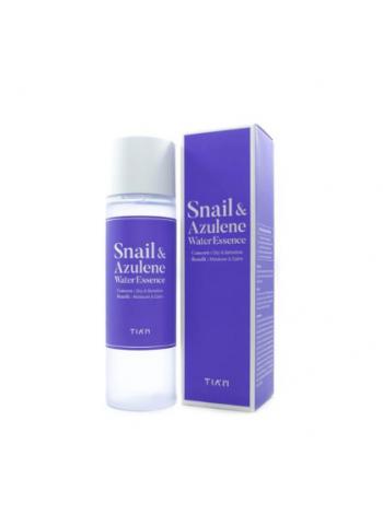 TIAM Snail & Azulene Water Essence Эссенция для лица с муцином улитки и азуленом