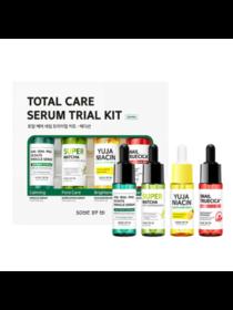 Some By Mi Набор сывороток для лица - Total care serum trial kit, 14мл*4шт