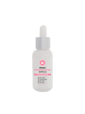 Ампульная сыворотка с экстрактом шиповника Pekah Rosehip Nutrition Ampoule 50 мл