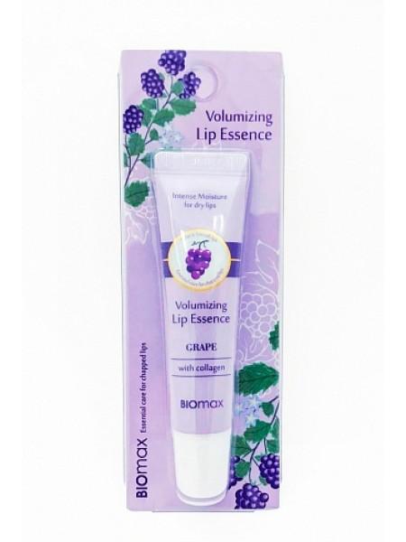 Biomax Увлажняющая эссенция для губ с экстрактом винограда BIOmax Volumizing Lip Essence