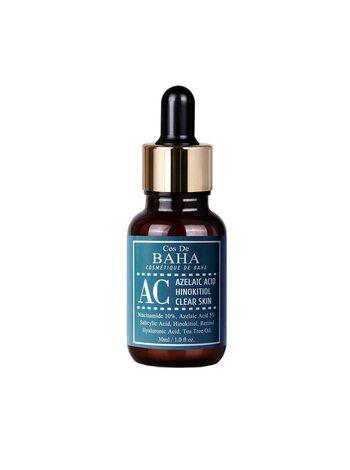 Интенсивная сыворотка против акне  Cos De BAHA Azelaic acid hinokitiol clear skin serum, 30мл