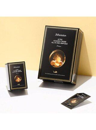 Сыворотка с золотом и икрой JMsolution Ampoule prime golden caviar, 2мл*30шт