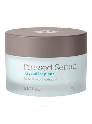 Blithe  Увлажняющая спрессованная сыворотка-крем  - Pressed serum crystal iceplant, 50мл