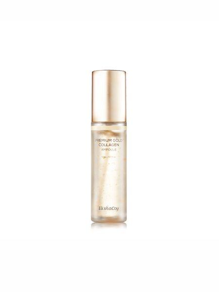 Сыворотка для лица с золотом и коллагеном ElishaCoy Premium Gold Collagen Ampoule 50мл.