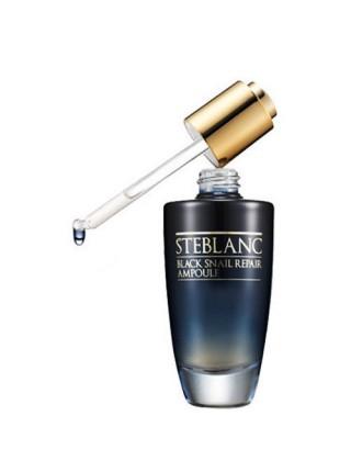 Steblanc Black Snail Repair Ampoule Сыворотка для лица с муцином Черной улитки