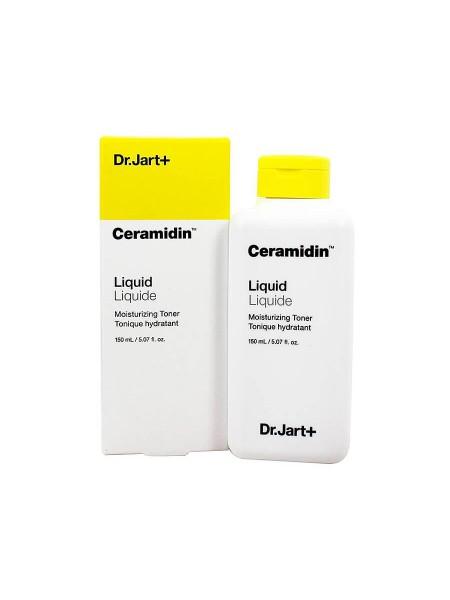 Увлажняющий тонер с керамидами Dr.Jart+ Ceramidin Liquid Moisturizing Toner
