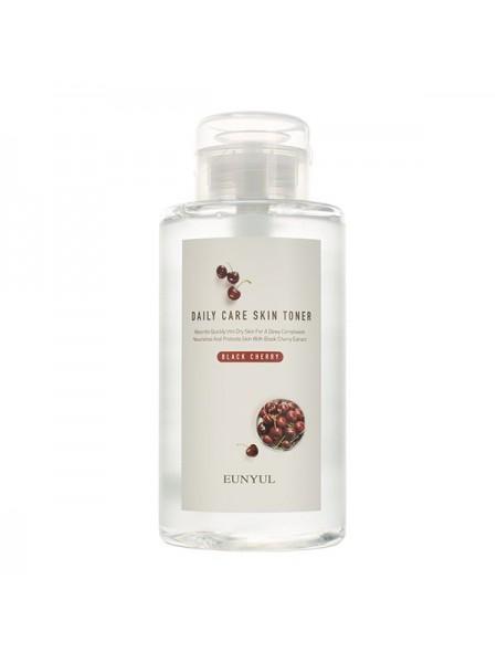 Увлажняющий тонер с экстрактом черешни EUNYUL Daily Care Black Cherry Skin Toner 500ml