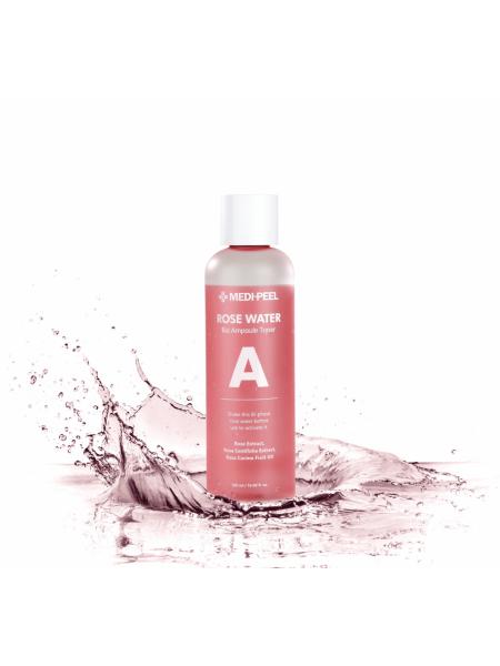 Тонер с экстрактом розы Medi-Peel Rose Water Bio Ampoule Toner