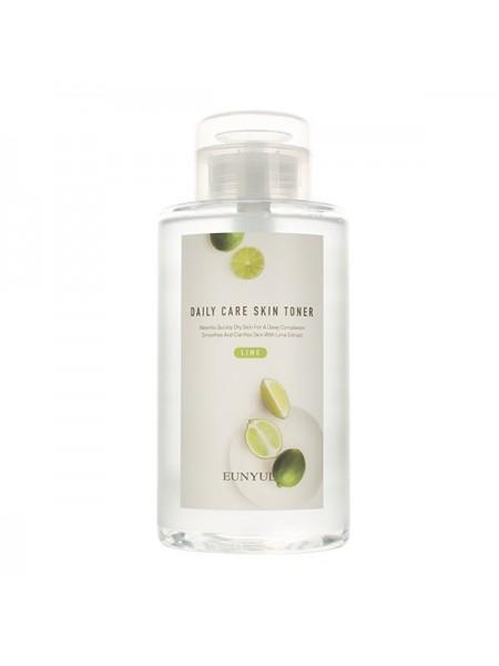 Освежающий тонер с экстрактом лайма EUNYUL Daily Care Lime Skin Toner 500ml