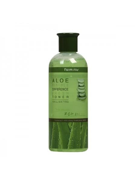Увлажняющий тонер с экстрактом алоэ FarmStay Visible Difference Fresh Toner (Aloe)