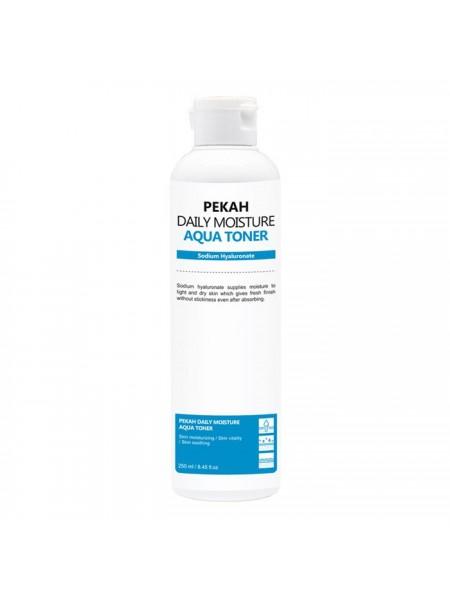 Освежающий тонер с травами и гиалуроновой кислотой PEKAH Daily Moisture Aqua Toner 250 мл