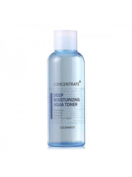 Тонер для глубокого увлажнения кожи CELRANICO Deep Moisturizing Aqua Toner 120ml