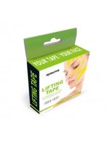 Кинезио тейп для лица Ayoume Kinesiology Tape Roll 1см*5м — желтый