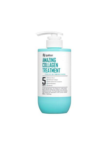 Spaklean Бальзам для волос с коллагеном - Amazing collagen treatment, 500мл