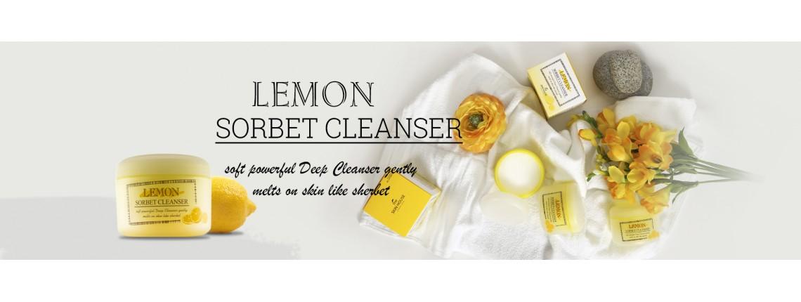 Лимонный сорбет для снятия макияжа по выгодной цене