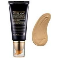 Steblanc Black Snail Repair BB Cream ВВ крем с муцином Чёрной улитки тон 01 (светлый беж)