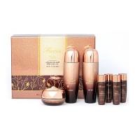 Daandan Bit Подарочный набор косметики по уходу за кожей лица с улиткой Facis advanced snail skin care 5set