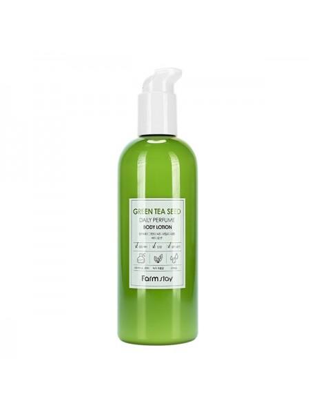 Лосьон для тела с зелёным чаем FarmStay Green Tea Daily Perfume Body Lotion