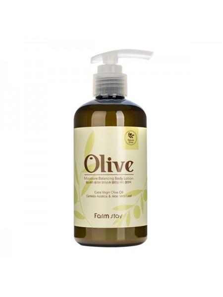 Лосьон для тела с оливой FarmStay Olive Moisture Balancing Body Lotion 250ml