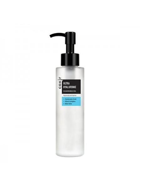 Coxir Гидрофильное масло с гиалуроновой кислотой  Ultra Hyaluronic Cleansing Oil