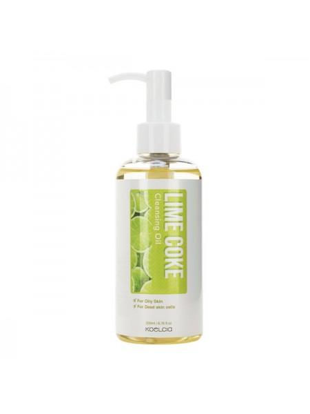 Гидрофильное масло для жирной кожи KOELCIA Lime Coke Cleansing Oil 200ml