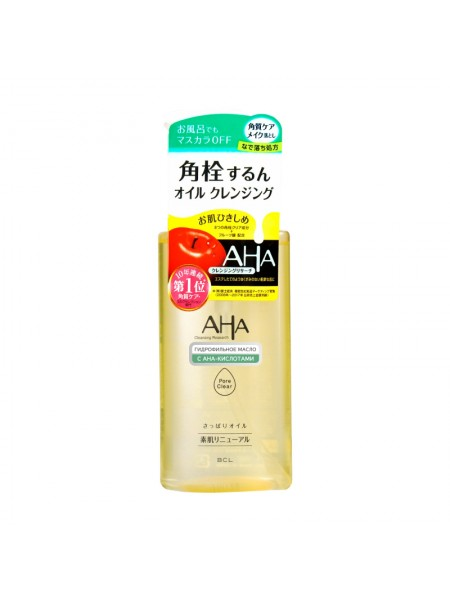 Гидрофильное масло с фруктовыми кислотами BCL AHA Wash Cleansing Oil, 200мл