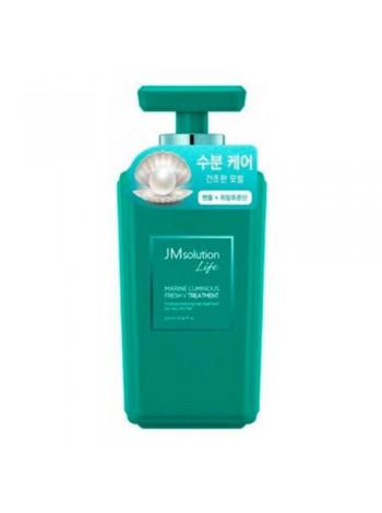 Кондиционер для волос с жемчугом JMsolution  Solution marine luminous fresh treatment