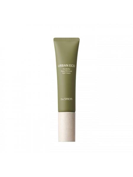Интенсивно увлажняющий крем для век с экстрактом новозеландского льна THE SAEM Urban Eco Harakeke Deep Moisture Eye Cream