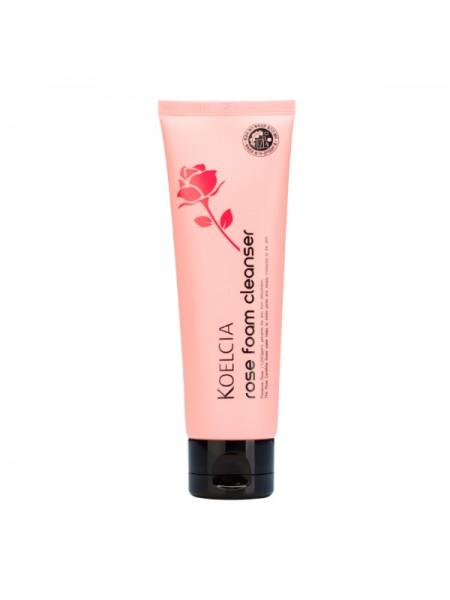 Пенка с экстрактом розы KOELCIA Rose Foam Cleanser 120g
