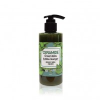 Пузырьковая очищающая пенка с детокс-эффектом EYENLIP Ceramide Green Toks Bubble Cleanser 200 мл