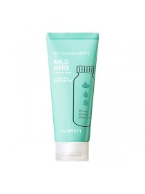 Пенка для умывания The Saem My Cleanse Recipe Cleansing Foam-Mild Herb