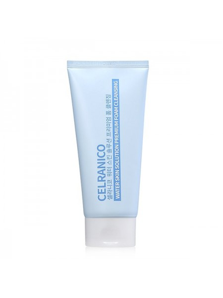 Очищающая пенка для сухой кожи CELRANICO Water Skin Solution Premium Foam Cleansing 150ml