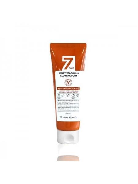 Очищающая пенка с витаминами 7 Days Secret Vita Plus-10 Cleansing Foam 150ml