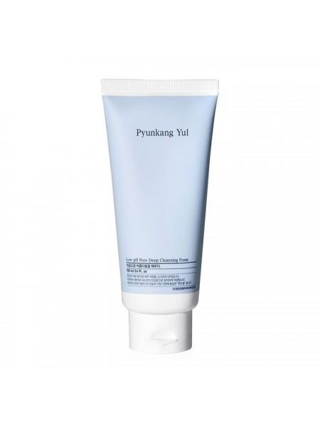 Низкокислотная пенка для умывания  PYUNKANG YUL Low pH Pore Deep Cleansing Foam 100ml