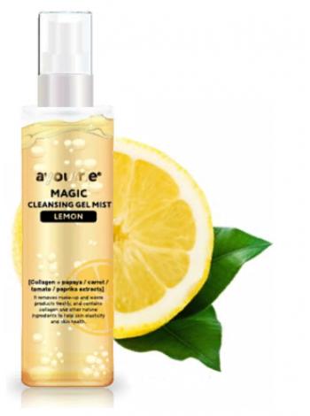 Гель-мист для лица очищающий AYOUME Magic Cleansing Gel Mist (LEMON) 50мл