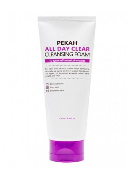 Очищающая пенка для умывания Pekah All Day Clear Cleansing Foam