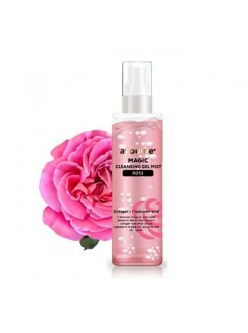 Гель-мист для лица очищающий  Роза AYOUME Magic Cleansing Gel Mist (ROSE) 50мл
