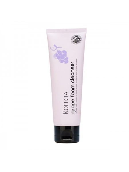 Пенка с экстрактом винограда KOELCIA Grape Foam Cleanser 120g