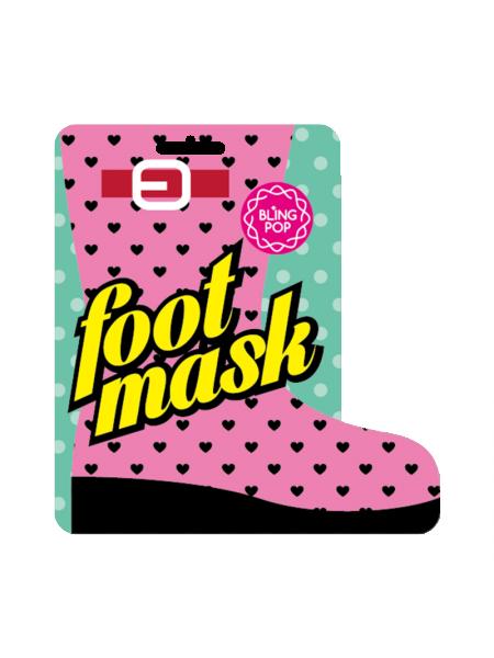 Маска для ног с маслом ши Bling Pop Shea Butter Healing Foot Mask