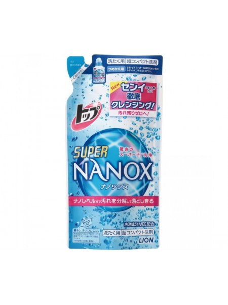 """Lion Гель для стирки """"Top Super NANOX"""", запасной блок, 360 гр"""