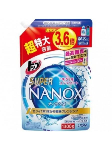 "LION Гель для стирки ""TOP Super NANOX"""