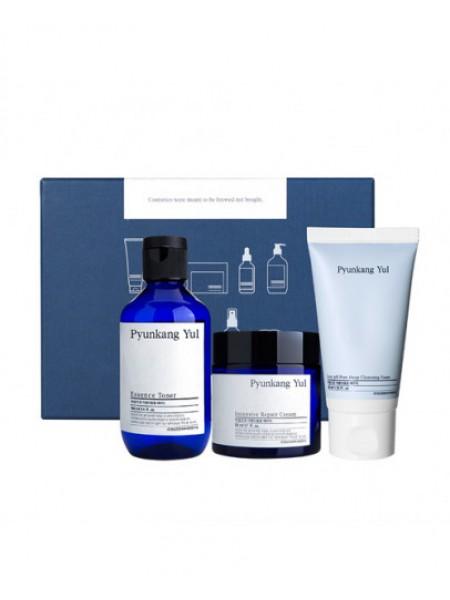 Pyunkang Yul Набор уходовый Skin set 20 (Intensive Repair Cream 50ml+ Essence toner 100ml + Low pH Pore Deep Cleansing Foam 40ml)