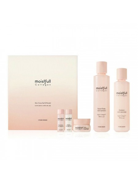 Набор антивозрастной с коллагеном ETUDE HOUSE Moistfull Collagen Skin Care Set (2KINDS)(19AD)