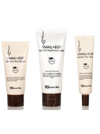 Уходовый набор SECRET SKIN SNAIL+EGF PERFECT 3 SET
